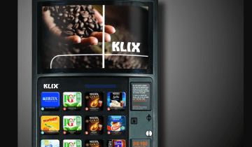 IoT mars drinks vending machine