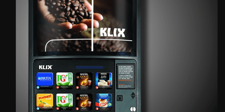 IoT mars drinks vending machine