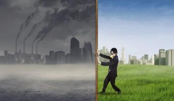 air pollution nano gas sensor