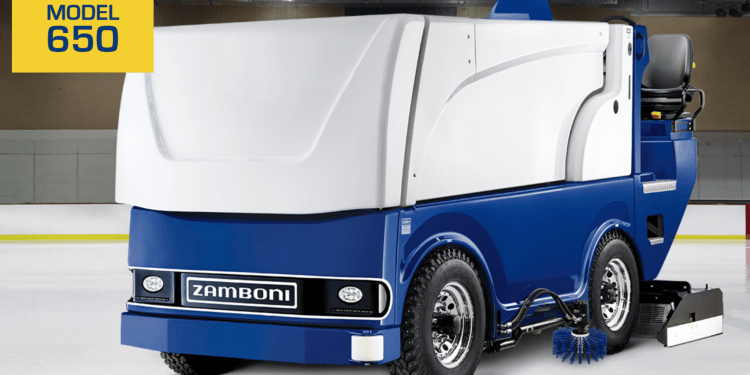 IoT connected Zamboni
