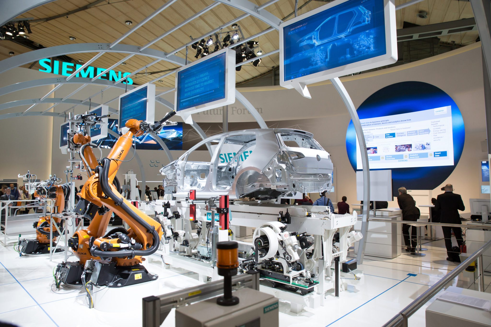 Siemens, SAP join Industry 4 0 initiative to move