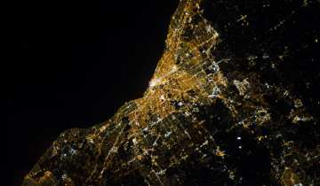 Night View of Cleveland (Image: Wikimedia)