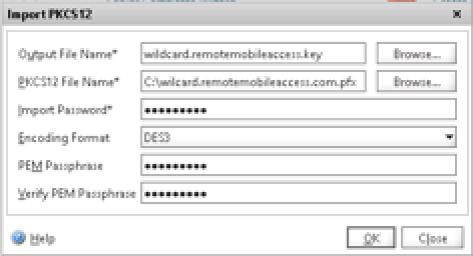 Create Key Citrix Netscaler