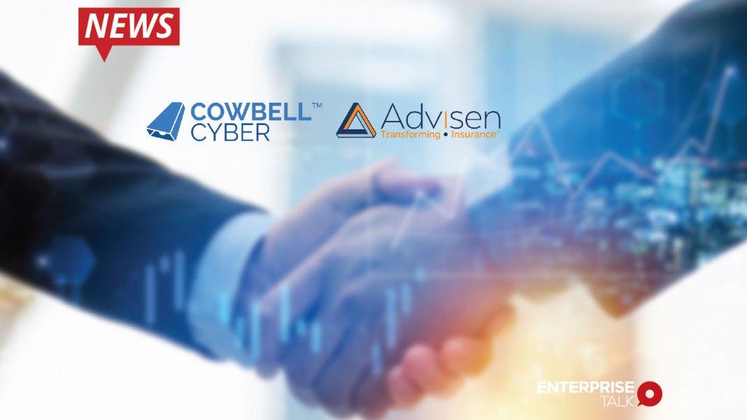 Cowbell Cyber , Advisen, Data Partnership, Artificial Intelligence (AI)-powered cyber insurance