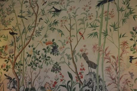 Chinese Handprinted wallpaper