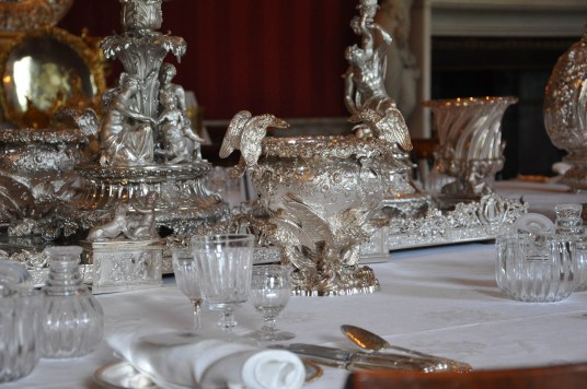 Amazing silver centrepiece