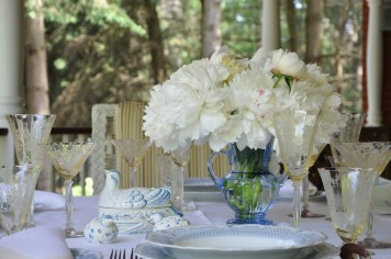 White peonies are so elegant