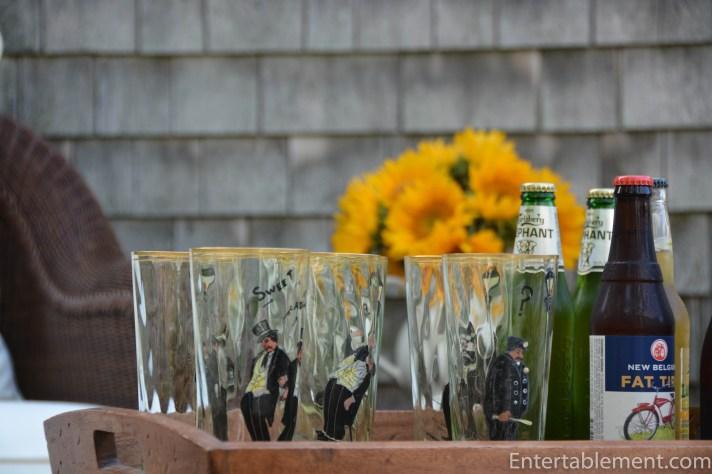 Vintage Beer Glasses