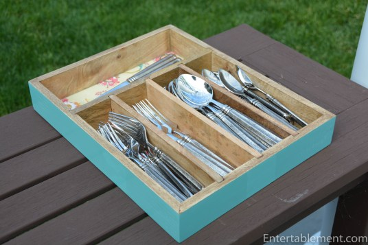 World Market Cutlery Tray