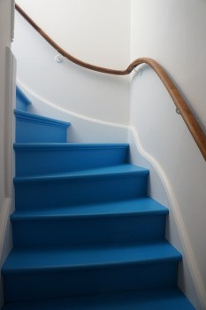 Our Blue Stairs