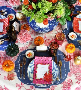Furbish table from Design Sponge - awesome color