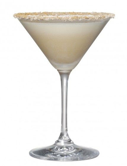 This cocktail is so smooth you will be cooing with Christmas cheer.