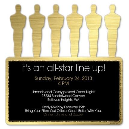 Oscar Invitation, Academy awards