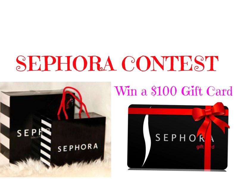 Win Sephora Gift Card 2018 Giftsite