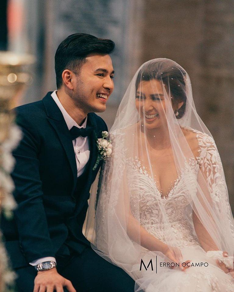 LOOK Sunshine Garcia Alex Castro get married  Inquirer Entertainment