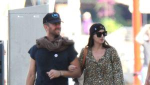 Dakota Johnson and Chris Martin Take Their Love to Spain in Rare Sighting | NewsBurrow