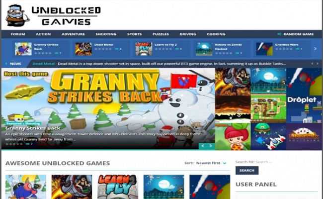 Top Unblocked Games To Play At School Entertainment