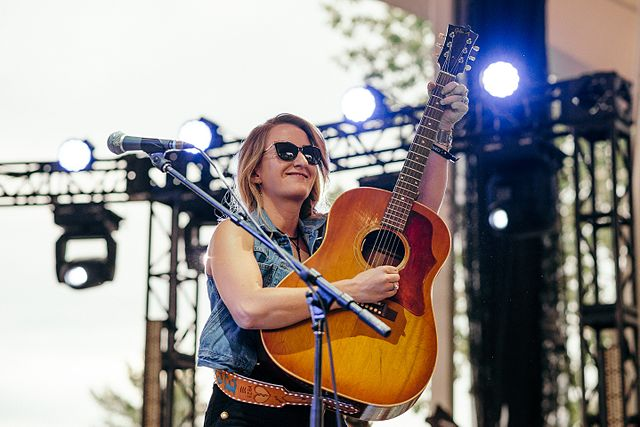 Margo Price in concert. Photo: Levi Manchak.