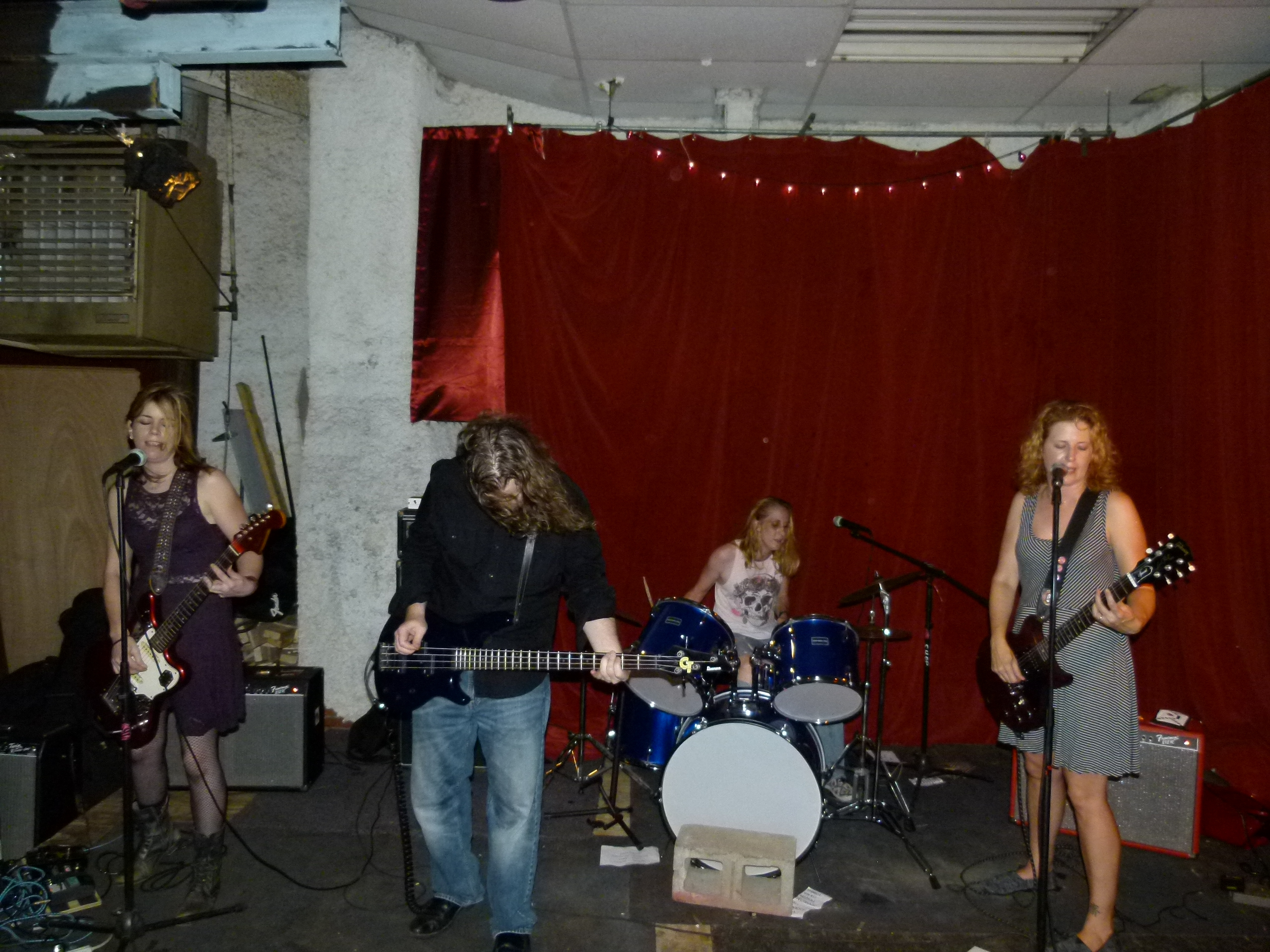 Murder For Girls, A Talented and Powerful Punk Rock Band. See Chris Maggios two part story that chronicles the band from rehearsal to festival performances.