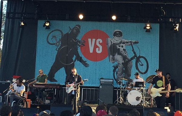Portugal. The Man performing in 2016 at the Cliff Bar Cyclescramble in San Rafael, California. Photo: Trevor Bolliger and Wikipdia.