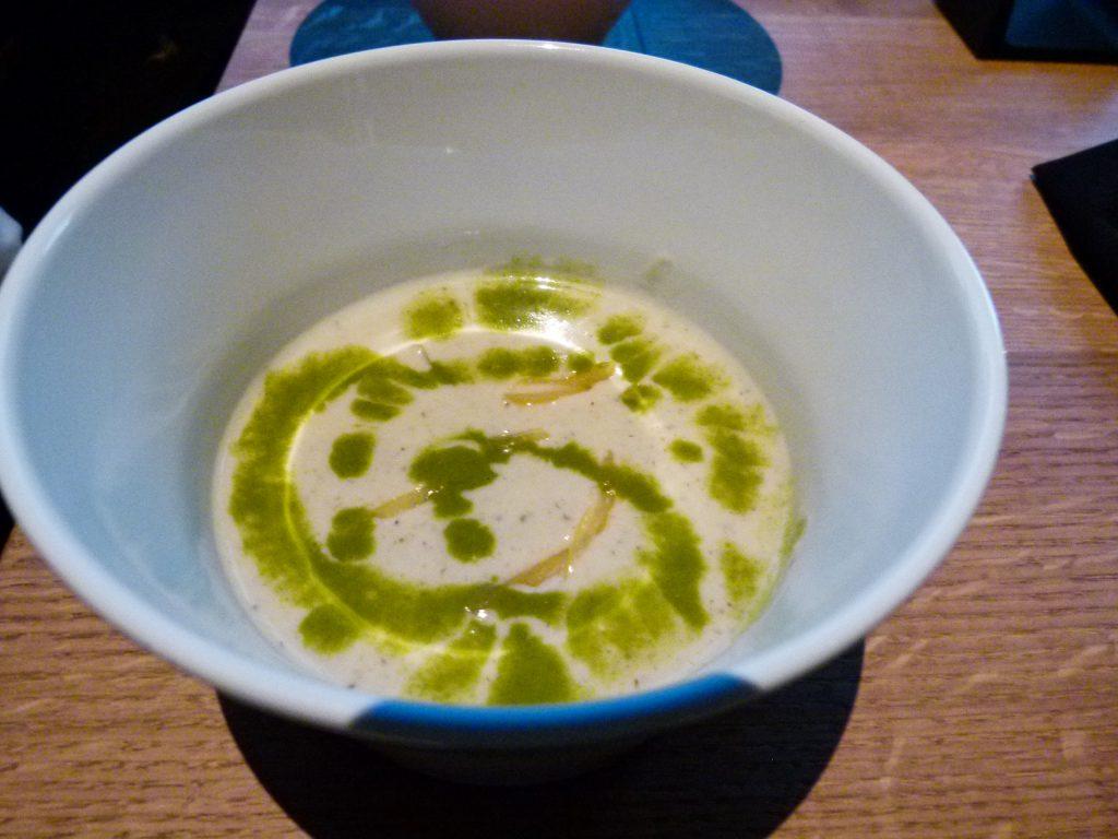 Sunchoke soup.