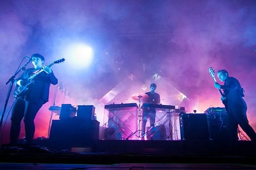 The xx performing at the Ilosaarirock festival in Joensuu, Finland in 2012. photo: Tuomas Vitikainen and Wikipedia.
