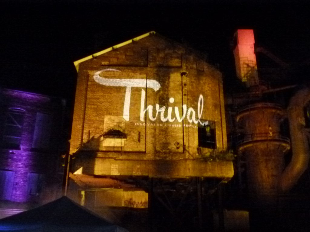 The Thrival Festival continues into night two at Carrie Furnaces in Rankin.