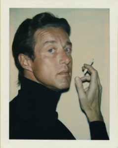 """Polaroid """"instant"""" cameras were used mainly for getting on-the-spot snapshots, but Warhol also used them to make portraits, including this one of the designer Halston in 1974. (Image © Andy Warhol Foundation)"""
