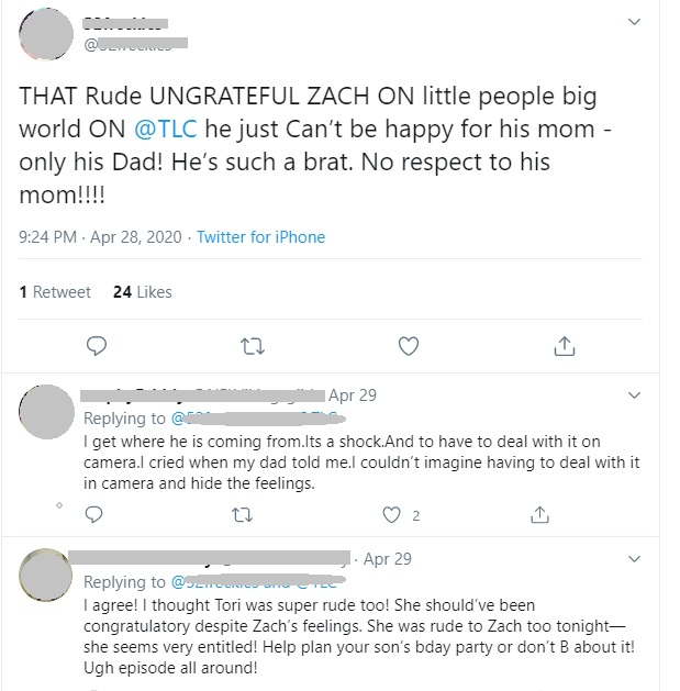 Little People, Big World - Zach Roloff Comments