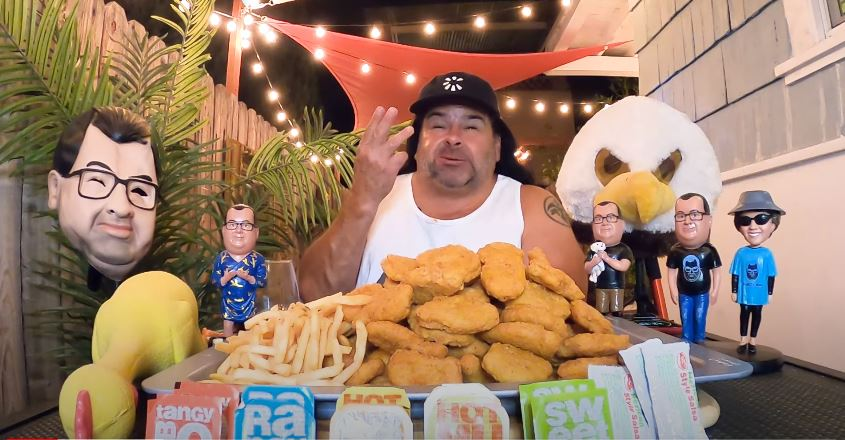 90 Day Fiance Ed Brown Eating