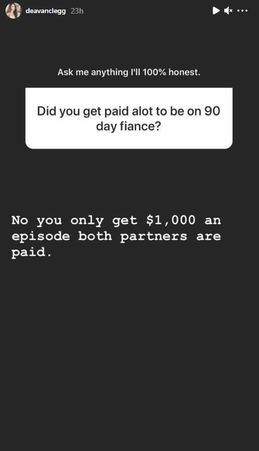Deavan Answer Instagram