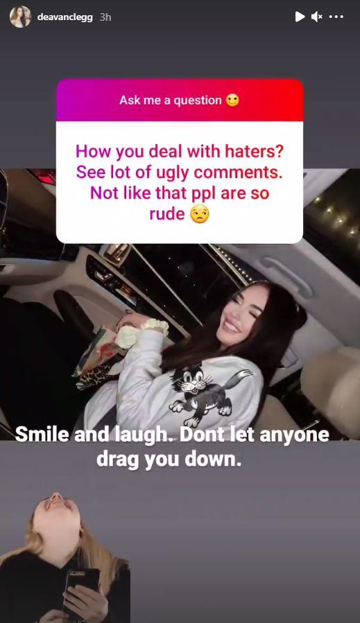 Deavan Clegg Instagram