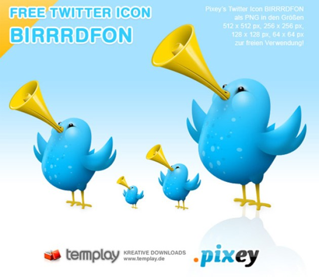 13 Twitter Icon Set