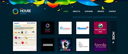 16 Colorful Webdesign
