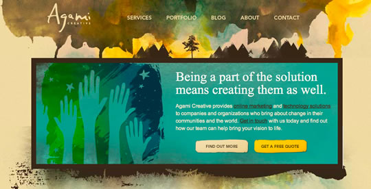 30 Colorful Website Design