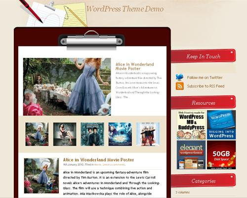 23 Beautiful Free Wordpress Themes   EntertainmentMesh