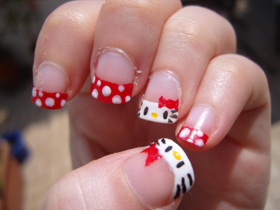 15 O Kitty Nail Art