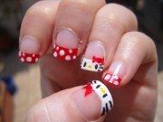 kitty nail art design ideas