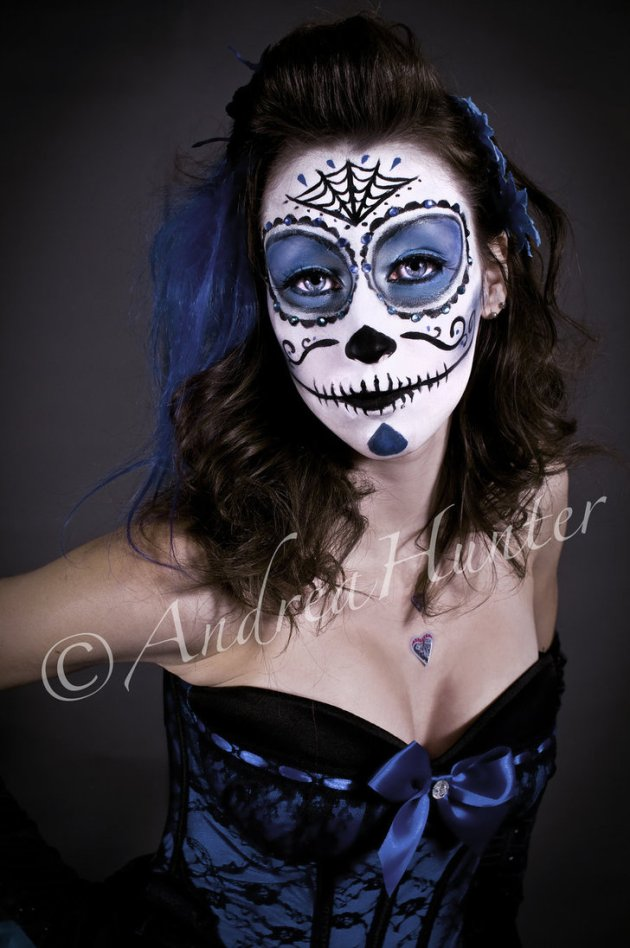 day of the dead face paint make up entertainmentmesh