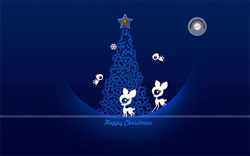 happy christmas wallpaper