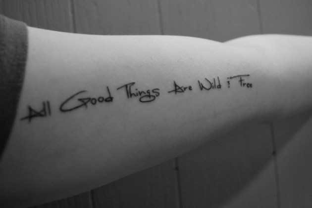 Good Tattoo Quotes Impressive 48 Best Tattoo Quotes To Get Inked EntertainmentMesh