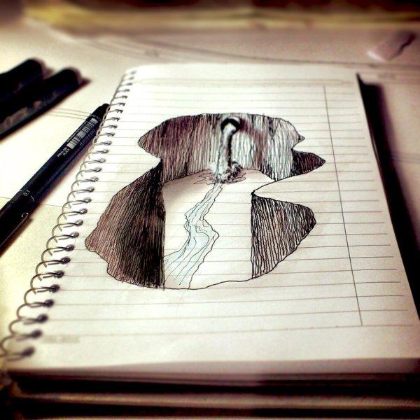 Super Fun 3d Drawings Paper Entertainmentmesh
