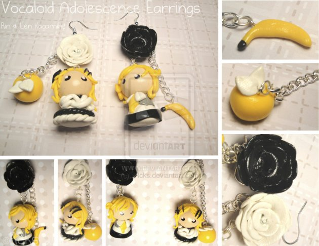 Vocaloid Adolescence Earrings