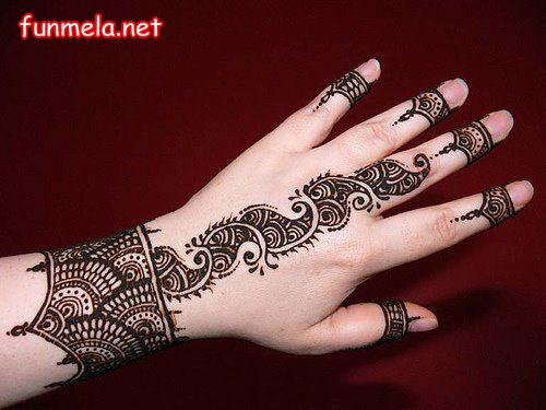 Lattest Mehndi Design