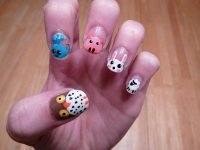25+ Cute and Adorable Animal Nails | EntertainmentMesh