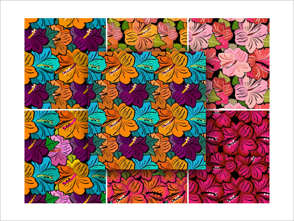 Very Flowery PS Patterns