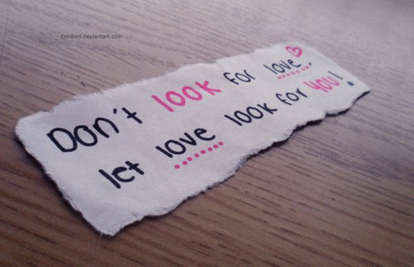 Look for love