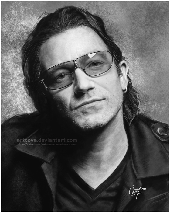 Digital Painting - Bono