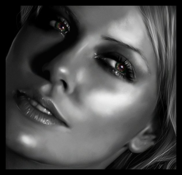 Digital Painting - Charlize Theron