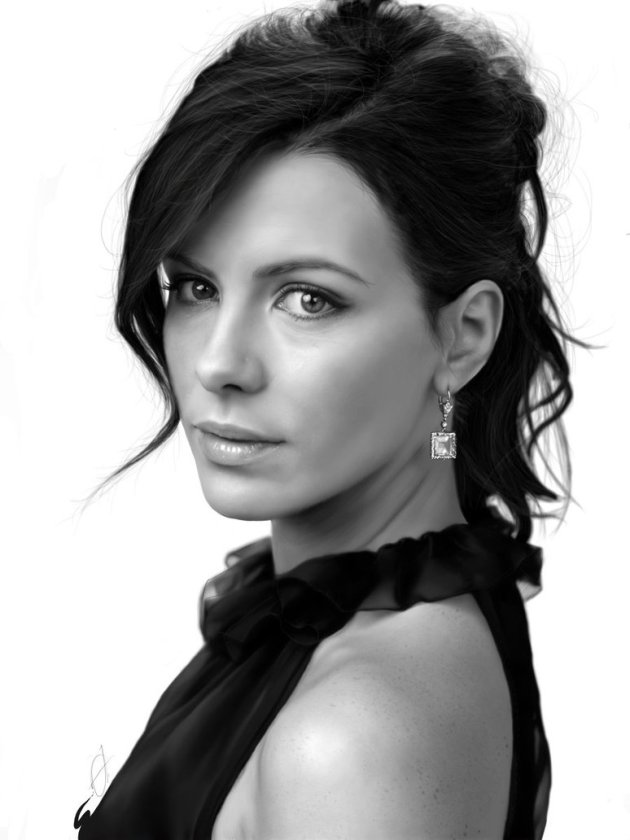 Digital Painting - Kate Beckinsale